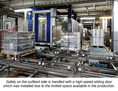 Haloila Octopus stretch wrapping machines